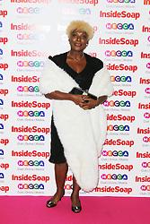 © Licensed to London News Pictures. 21/10/2013, UK. Lorna Laidlaw, Inside Soap Awards, Ministry Of Sound, London UK, 21 October 2013. Photo credit : Richard Goldschmidt/Piqtured/LNP