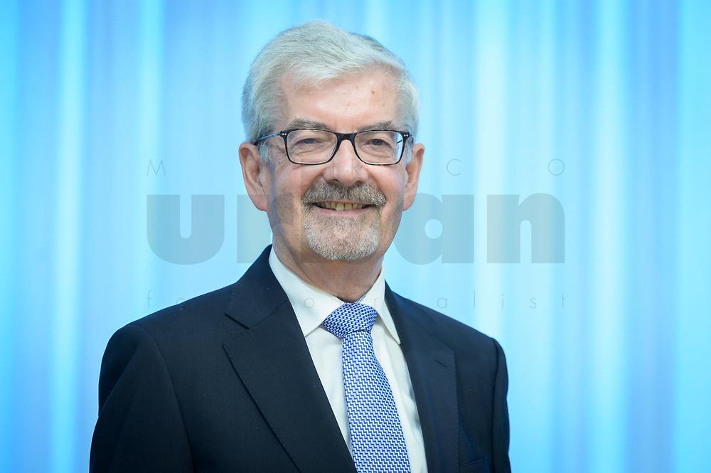 20 FEB 2020, BERLIN/GERMANY:<br /> Dr. Heinz Fischer-Heidlberger, Vorsitzende der Kommission zur Ermittlung des Finanzbedarfs der Rundfunkanstalten, KEF, Landesvertertung Rheinland-Pfalz<br /> IMAGE: 20200220-01-013