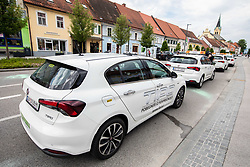 Cars during 2nd Stage of 27th Tour of Slovenia 2021 cycling race between Zalec and Celje (147 km), on June 10, 2021 in Slovenia. Photo by Vid Ponikvar / Sportida