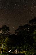 Camping in National park Shenandoah