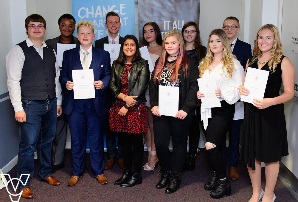 Cohort 1 - Team 3 | NCS EM1 graduation ceremony held at The Castle Theatre, Wellingborough, Northamptonshire.<br /> <br /> Picture: Chris Vaughan Photography<br /> Date: September 13, 2017