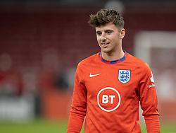 Mason Mount (England) under UEFA Nations League kampen mellem Danmark og England den 8. september 2020 i Parken, København (Foto: Claus Birch).