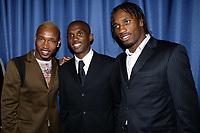 Fotball<br /> African Nations Cup 2004<br /> Afrika Mesterskapet<br /> Foto: Digitalsport<br /> Norway Only<br /> <br /> AFRICAN STARS AWARDS - 04/02/2004<br /> EL HADJI DIOUF (SENEGAL) / SAMUEL ETO'O (CAMEROON) / DIDIER DROGBA (IVORY COAST) -