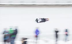20.02.2016, Olympiaeisbahn Igls, Innsbruck, AUT, FIBT WM, Bob und Skeleton, Damen, Skeleton, 3. Lauf, im Bild Lanette Prediger (CAN) // Lanette Prediger of Canada competes during women Skeleton 3rd run of FIBT Bobsleigh and Skeleton World Championships at the Olympiaeisbahn Igls in Innsbruck, Austria on 2016/02/20. EXPA Pictures © 2016, PhotoCredit: EXPA/ Johann Groder