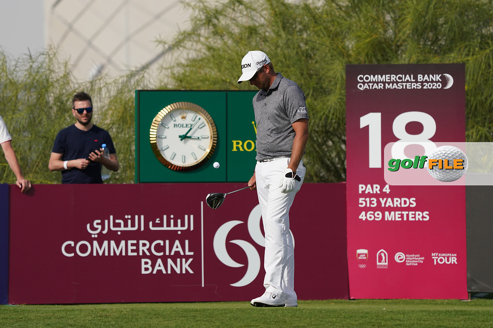Dean Burmester (RSA) during the third round of the Commercial Bank Qatar Masters 2020, Education City Golf Club , Doha, Qatar. 07/03/2020<br /> Picture: Golffile   Phil Inglis<br /> <br /> <br /> All photo usage must carry mandatory copyright credit (© Golffile   Phil Inglis)