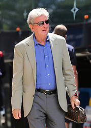 Crystal Palace Manager Roy Hodgson arrives at Madejski Stadium during the pre-season friendly match at the Madejski Stadium, Reading.