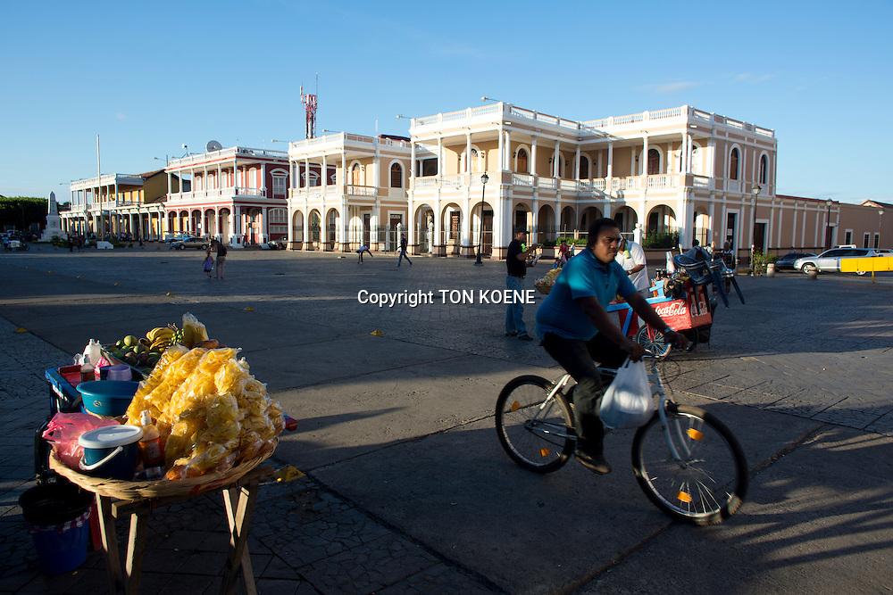 public square in granada, nicaragua