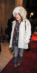 JAIME WINSTONE at the Cirque du Soleil's gala premier of Quidam held at the Royal Albert Hall, London on 6th January 2009.
