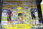 Edvald Bassoon Hagen wins the Aviva Tour of Britain, Regent Street, London, United Kingdom on 13 September 2015. Photo by Phil Duncan.