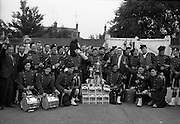 4/7/1964<br /> 7/4/1964<br /> 4 July 1964<br /> <br /> The Band after the Carling Presentation