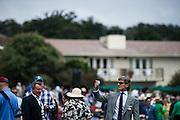 August 2014: Pebble Beach Concours. Stephan Winkelmann at the Pebble Beach Concours