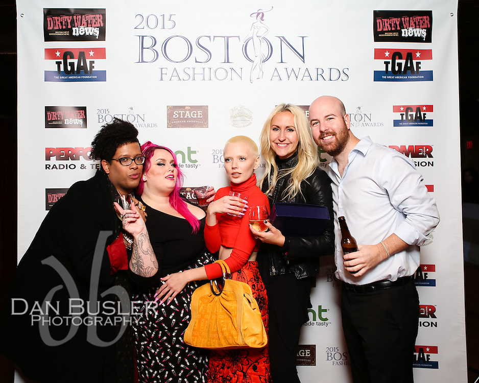 2015 Boston Fashion Awards at the Stage Nightclub Best Photographer award winner, Dawn Kingston