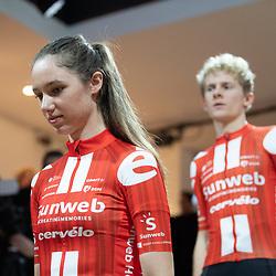 10-12-2019: Wielrennen: Teampresentatie Sunweb: Amsterdam: Pfeiffer Georgi