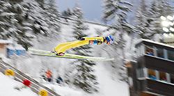 30.12.2011, Schattenbergschanze / Erdinger Arena, GER, Vierschanzentournee, FIS Weldcup, Probedurchgang, Ski Springen, im Bild Maciej Kot (POL) // Maciej Kot of Poland  during the trial round at 60th Four-Hills-Tournament, FIS World Cup in Oberstdorf, Germany on 2011/12/30. EXPA Pictures © 2011, PhotoCredit: EXPA/ P.Rinderer