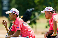 21-07-2018 Pictures of the final day of the Zwitserleven Dutch Junior Open at the Toxandria Golf Club in The Netherlands.  KAEWKANJANA, Sadom (TH) with his caddie