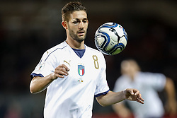 October 6, 2017 - Turin, Italy - Roberto Gagliardini of Italy national team in action during the 2018 FIFA World Cup Russia qualifier Group G football match between Italy and FYR Macedonia at Stadio Olimpico on October 6, 2017 in Turin, Italy. (Credit Image: © Mike Kireev/NurPhoto via ZUMA Press)