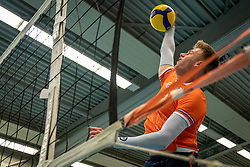 Bennie Tuinstra in action during the Olaf Ratterman Memorial match between Netherlands vs. Eredivisie All Star team on May 03, 2021 in Barneveld.