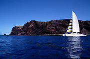 Catamaran, Lanai, Hawaii<br />