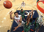 CHARLOTTESVILLE, VA- NOVEMBER 26:  Mike Scott #23 of the Virginia Cavaliers shoots the ball during the game on November 26, 2011 at the John Paul Jones Arena in Charlottesville, Virginia. Virginia defeated Green Bay 68-42. (Photo by Andrew Shurtleff/Getty Images) *** Local Caption *** Mike Scott