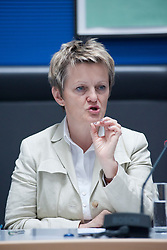 German Green MP Renate Kuenast speaking in June at the Reichstag in Berlin