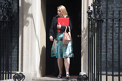 July 4, 2017 - London, United Kingdom - Members of the Cabinet are seen while leaving No. 10 of Downing Street after a meeting, London on July 4, 2017. (Credit Image: © Alberto Pezzali/NurPhoto via ZUMA Press)