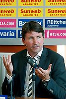 Fotball<br /> Nederland / Holland<br /> Foto: ProShots/Digitalsport<br /> NORWAY ONLY<br /> <br /> nac - heerenveen , breda 30-08-2009  , eredivisie voetbal , seizoen 2009-2010 . trond sollied , persconferentie
