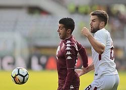 October 22, 2017 - Turin, Italy - Iago Falque during Serie A match between Torino v Roma, in Turin, on October 22, 2017  (Credit Image: © Loris Roselli/NurPhoto via ZUMA Press)