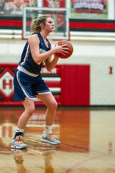 13 January 2020:  Ridgeview Mustangs v Heyworth Hornets girls basketball at Heyworth High School in Heyworth IL<br /> <br /> Photo by Alan Look