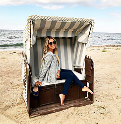 """Sylvie Meis releases a photo on Instagram with the following caption: """"\u2764 #happygirl @weissenhaus #sparesort #ostsee"""". Photo Credit: Instagram *** No USA Distribution *** For Editorial Use Only *** Not to be Published in Books or Photo Books ***  Please note: Fees charged by the agency are for the agency's services only, and do not, nor are they intended to, convey to the user any ownership of Copyright or License in the material. The agency does not claim any ownership including but not limited to Copyright or License in the attached material. By publishing this material you expressly agree to indemnify and to hold the agency and its directors, shareholders and employees harmless from any loss, claims, damages, demands, expenses (including legal fees), or any causes of action or allegation against the agency arising out of or connected in any way with publication of the material."""