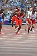 Olympic Stadium, Stratford, London, United Kingdom<br /> <br /> Description:<br /> <br /> 2012 London Olympic, Athletics, <br /> . <br /> <br /> 19:54:43  Friday  10/08/2012 [Mandatory Credit: Peter Spurrier/Intersport Images]