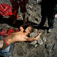 The morning after a beach party. Gran Canaria, Spain.<br /> Photo by Knut Egil Wang