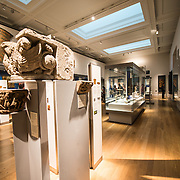 The British Museum in downtown London us dedicated to human history and culture and has about 8 million works in its permanent collection.