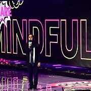Speaks Elizabeth Theodorou at 2020 WE Day UK at Wembley Arena, London, Uk 4 March 2020.