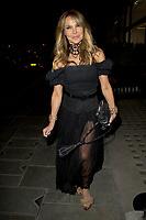 Lizzie Cundy, outside Scott's of Mayfair London photo by Terry Scott
