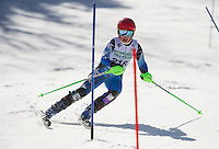 Paul Ladouceur Memorial Slalom U14 ladies with Gunstock Ski Club.  ©2016 Karen Bobotas Photographer