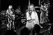 British-Icelandic punk-rock band Dream Wife at Blue Shell in Cologne