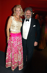 """BARON & BARONESS STEPHEN BENTINCK, she is<br />actress Lisa Hogan at the 10th annual British Red Cross London Ball.  This years ball theme was Indian based - """"Yaksha - Yakshi: Doorkeepers to the Divine"""" and was held at The Room, Upper Ground, London on 1st December 2004.  Proceeds from the ball will aid vital humanitarian work, including HIV/AIDS projects that the Red Cross supports in the UK and overseas.<br /><br />NON EXCLUSIVE - WORLD RIGHTS"""