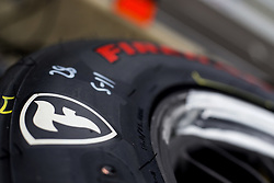 May 18, 2018 - Indianapolis, Indiana, United States of America - Firestone tires wait for use during ''Fast Friday'' practice for the Indianapolis 500 at the Indianapolis Motor Speedway in Indianapolis, Indiana. (Credit Image: © Chris Owens Asp Inc/ASP via ZUMA Wire)
