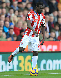 Mame Biram Diouf of Stoke City - Mandatory by-line: Paul Roberts/JMP - 04/11/2017 - FOOTBALL - Bet365 Stadium - Stoke-on-Trent, England - Stoke City v Leicester City - Premier League