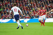 David Pavelka of Czech Republic during the UEFA European 2020 Qualifier match between England and Czech Republic at Wembley Stadium, London, England on 22 March 2019.