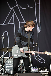 Van McCann, Catfish and the Bottlemen play the Radio 1 stage. Sunday, 12th July 2015, day three at T in the Park 2015, at its new home at Strathallan Castle.