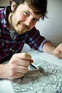 Comic Book Artist Jon Reed