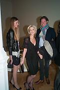 ISABEL HYDE; ELIZABETH ESTEVE; MICHAEL HYDE;, Calder After The War. Pace London. Burlington Gdns. London. 18 April 2013.