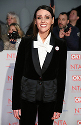 Keeley Hawes attending the National Television Awards 2018 held at the O2, London. Photo credit should read: Doug Peters/EMPICS Entertainment