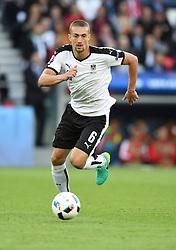Stefan Ilsanker of Austria  - Mandatory by-line: Joe Meredith/JMP - 18/06/2016 - FOOTBALL - Parc des Princes - Paris, France - Portugal v Austria - UEFA European Championship Group F