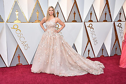 Mira Sorvino walking the red carpet as arriving for the 90th annual Academy Awards (Oscars) held at the Dolby Theatre in Los Angeles, CA, USA, on March 4, 2018. Photo by Lionel Hahn/ABACAPRESS.COM
