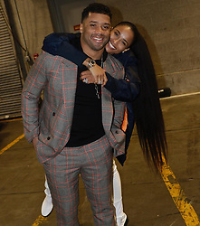 """Ciara releases a photo on Instagram with the following caption: """"Love you baby. I\u2019m so proud of you @DangeRussWilson. Your hard work, consistency, and dedication motivates me. No matter what, you\u2019re always a winner to me! #Playoffbound #GoHawks"""". Photo Credit: Instagram *** No USA Distribution *** For Editorial Use Only *** Not to be Published in Books or Photo Books ***  Please note: Fees charged by the agency are for the agency's services only, and do not, nor are they intended to, convey to the user any ownership of Copyright or License in the material. The agency does not claim any ownership including but not limited to Copyright or License in the attached material. By publishing this material you expressly agree to indemnify and to hold the agency and its directors, shareholders and employees harmless from any loss, claims, damages, demands, expenses (including legal fees), or any causes of action or allegation against the agency arising out of or connected in any way with publication of the material."""