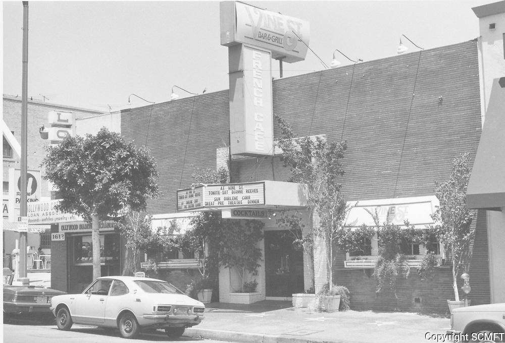 1987 Vine Street Bar & Grill on Vine St.