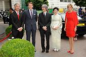Prins en Prinses Akishino bezoeken Nederland
