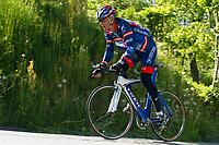 Sykkel<br /> CRITERIUM DU DAUPHINE LIBERE 2004<br /> 06.06.2004-13.06.2004<br /> Foto: Dppi/Digitalsport<br /> NORWAY ONLY<br /> <br /> LANCE ARMSTRONG (USA) / US POSTAL BERRY FLOOR